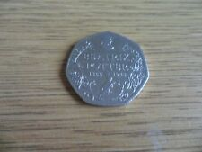Rare 50p Pence Coin Beatrix Potter (1866-1943) - 2016 issue