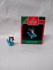 """Hallmark Keepsake Ornament Miniature """"Kittens In Toyland"""" Collector's Series #4"""