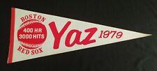 Vintage Baseball Boston Red Sox Pennant~ Yaz 1979 (Carl Yastrzemski)