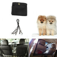 115 x 62 cm Car Dog Pet Barrier Guard Back Seat Protector Mesh Net Fence For SUV