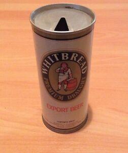 Whitbread premium draught- Vintage steel beer can