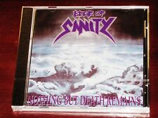 Edge of Sanity: Nothing but death remains CD 2010 Negro MARK SUECIA bmcd10 NUEVO