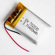 3.7V 400mAh Lipo Battery Polymer ion cell For MID DVD GPS mp3 bluetooth 702030