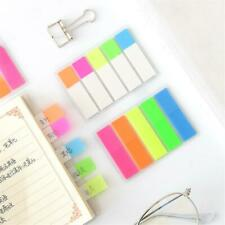 Creative Colorful Sticky Notes Fluorescent Page Markers Index Tabs for Marker