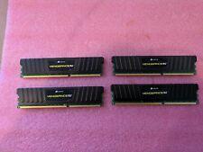 Corsair Vengeance LP 16GB (4 x 4GB) DDR3 Ram - CML16GX3M4A1600C9