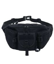Men Tactical Military Shoulder Waist Fanny Pack Molle Bag Outdoor Camping Hiking