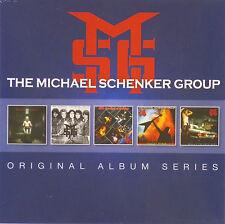 5x CD-the Michael Schenker Group-Original Album Series - #a2811