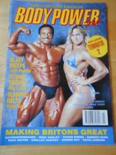 BODYPOWER PLUS bodybuilding muscle magazine/MOMO BENAZIZA & KATHY UNGER 7-91 UK