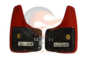 2016-2019 Chevrolet Camaro Genuine GM Red Automatic Paddle Shift Switch Set