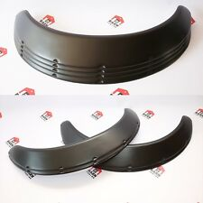 "JDM Fender Flares UNIVERSAL Wheel arch SET 2.5"" wide 4 pieces"