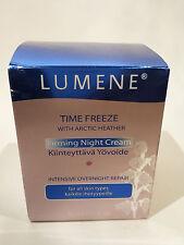 Lumene Time Freeze Firming Night Cream Intensive Overnight Repair Arctic Heather