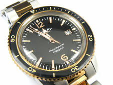 Rotary GB02695/04 Mens Ocean Avenger Rose Gold Watch - 100m