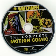 Watchmen: The Complete Motion Comic (Blu-ray disc)