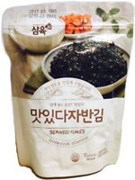 Sahmyook Seasoned Laver Snack (Seaweed Rice Seasoning w/ Sesame Seeds), 2.47 Oz