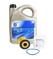 ORIGINAL GM OPEL Motoröl 5W-30 dexos1 Gen 2 LongLife 5 Liter + Ölfilter 55594651