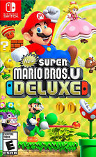 New Super Mario Bros. U DELUXE Nintendo Switch +INFO. DESCRIPCIÓN / DESCRIPTION