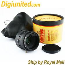 Camdiox APS-C sensor 35mm f/1.6 C mount CCTV Lens for Olympus M4/3 NEX Fuji FX N