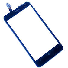 100% Originale Nokia Lumia 625 Digitizer Touch Screen Front Glass Lens pannello + Flex