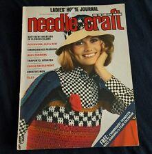 LADIES HOME JOURNAL, NEEDLE CRAFT MAGAZINE, 1973 SPRING/SUMMER ISSUE