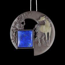Carved Horse Stone Designer Bead GG823002