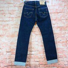 Men's Iron Heart 18oz IH-666S Japanese Selvedge Denim Jeans Size W29 L35