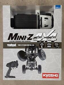 Kyosho MX-01 Mini-Z 4X4 Readyset w/Jeep Wrangler Body White 32521W Brand New!!