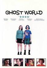GHOST WORLD Movie POSTER 27x40 UK Thora Birch Scarlett Johansson Steve Buscemi