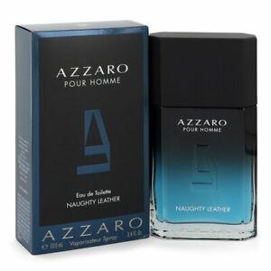 Azzaro Naughty Leather by Azzaro 3.4 oz Eau De Toilette Spray for Men