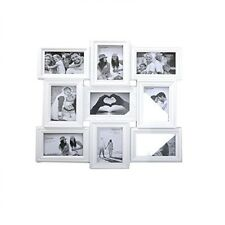 Cadre Photo Mural Famille Collage Multi Aperture Support 9 Photos Blanc