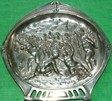 c1900 WMF Art Nouveau Cherubs & Swags Card Tray Plaque