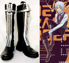 D.Gray-Man Allen Walker Cosplay Shoes Schuhe zapato scarpa chaussure Kostüm neu