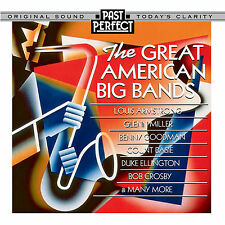 PAST PERFECT Vintage Music CD Great American Big Bands of the 1930s & 40s