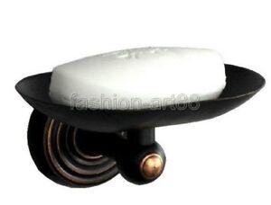Dark Oil Rubbed Bronze Wall Mount Bathroom Soap Dish Holder fba070 B