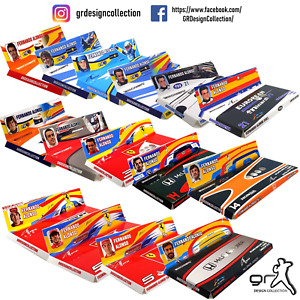 [F1 Minichamps] FERNANDO ALONSO COLLECTION Pack CUSTOM INLAY / 1:43