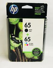 New Genuine HP 65 Black Color Ink Cartridges Deskjet 2622 2634 ENVY 5010 5055