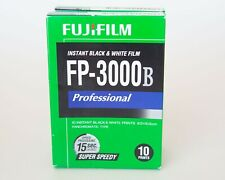 FujiFilm FP-3000B  Professional Instant Black and White Instant Film  Two packs