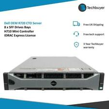 More details for dell per720 oem server 8 x sff drive bays h710 mini controller express license