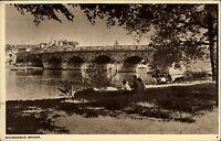 Maidenhead England Berkshire ~1958 Bridge Brücke Bauwerk Construction Themse