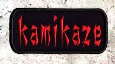 Kamikaze Iron/sew on Patch Iron/sew on Patch