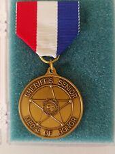sheriff's senior medal of honor NIP