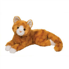 "Douglas MARMALADE Plush Orange Stripe CAT Toy 15"" Stuffed Animal Tabby Tiger NEW"