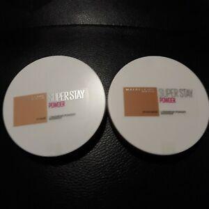 Maybelline Super Stay Longwear Powder 16 hour 2 shades to Choose 9g