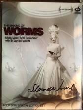 The making of Worms: Music video shot breakdown DVD SIGNED BY Sil Van der Woerd