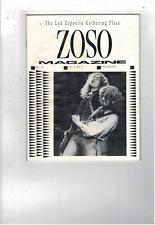 Rare Vintage Led Zeppelin Zoso Magazine May 1991 Vol V No V Ms1895