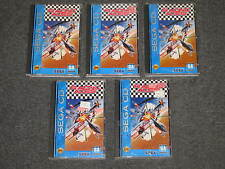 LOT OF 5 Racing Aces (Sega CD, 1993) games Complete