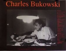 Bukowski Poem & Picture | Produced by Allen Cohen Orig. 1999 Promo Poster