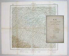 Cartina Emilia-Romagna N. E. CARTA ITALIA al 100000 Foglio 88 IMOLA 1904 IGM
