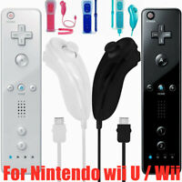 Wii Remote Controller Motion Plus&Nunchuck for Wii/Wii U Console Video Games USA