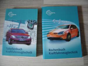 Kraftfahrzeugtechnik Rechenbuch  + Tabellenbuch Kraftfahrzeugtechnik
