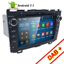 HIZPO Android 7.1 Car Stereo DVD Player GPS WiFi Radio for Honda CRV 2007-2011